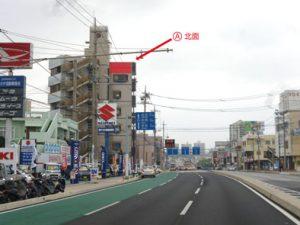 琉球リアル本社 壁面